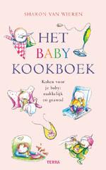 Voorkant van Het baby kookboek   Sharon van Wieren