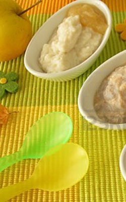 Bron afbeelding: http://www.123rf.com/photo_11354517_millet-porridge-creamed-rice-and-spelt-mash-for-babies-and-small-children.html